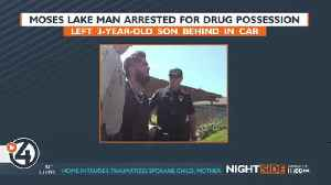 Moses Lake man abandons son to run from police [Video]