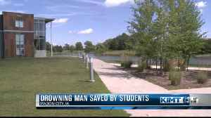 Drowning man saved by NIACC Students [Video]