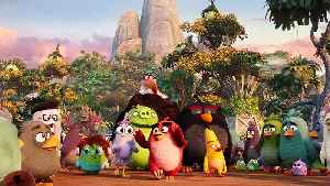 THE ANGRY BIRDS MOVIE 2 Music Lyric video - Let's Just Be Friends [Video]