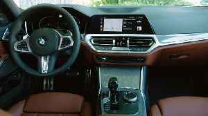 The all-new BMW 3 Series Plug-in Hybrid Design Interior [Video]
