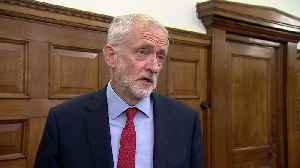 Jeremy Corbyn calls on parties to make him caretaker PM [Video]