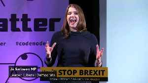 Jo Swinson 'ready to work with anyone' to stop no deal [Video]