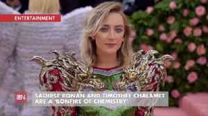 Saoirse Ronan And Timothée Chalamet Are Great On Camera [Video]