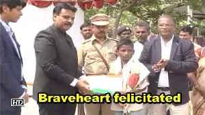 Braveheart felicitated [Video]
