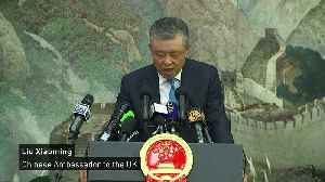 News video: China will not 'sit on its hands' over Hong Kong
