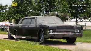 Auction-House Rock! The Car Elvis & Priscilla Drove After Their Wedding Is Up For Auction! [Video]