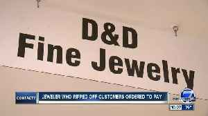 Former D&D Jewelry Store owner pleads guilty to theft, ordered to repay customers [Video]