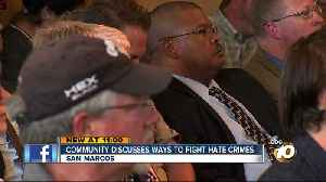 Community discusses ways to fight hate crimes [Video]