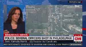 Kamala Harris on gun control while Philadelphia shooting is unfolding [Video]