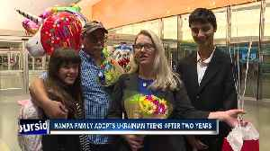 Nampa family adopts Ukrainian teens after two years [Video]