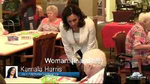 Nursing home resident tells off Kamala Harris [Video]