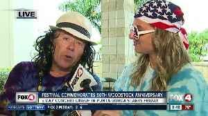 Festival in Punta Gorda commemorates 50th Woodstock anniversary [Video]