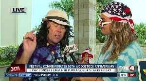 3 day festival in Punta Gorda commemorates 50th Woodstock anniversary [Video]