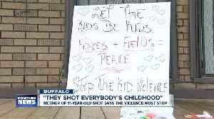"""They shot everybody's childhood."" Mother of 11-year-old shot has a message for Buffalo [Video]"