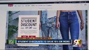 Student discounts to help you save on back-to-school [Video]
