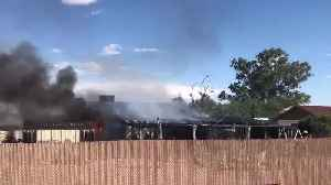 Crews battling house fire on Tucson's south side [Video]