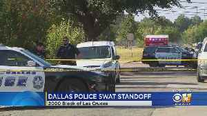 Dallas Police Involved In Standoff With Shooting Suspect [Video]