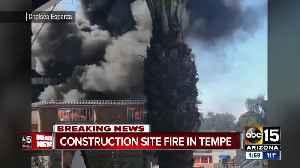 Firefighters battle 2nd alarm fire in Tempe [Video]
