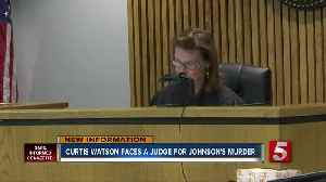 Curtis Watson makes initial court appearance; judge sets date for preliminary hearing [Video]