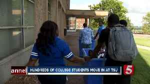 Hundreds of college students move in at TSU [Video]