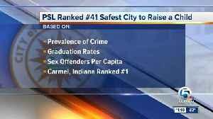 Safest city to raise a child [Video]