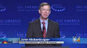 Hickenlooper To Drop Out Of Presidential Race Thursday, Source Says [Video]