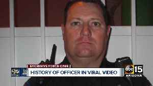 History of officer in viral video [Video]