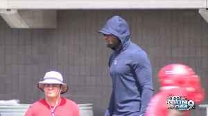 DeMarco Murray talks UA Running back [Video]