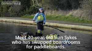 City worker ditches London life for paddleboarding [Video]
