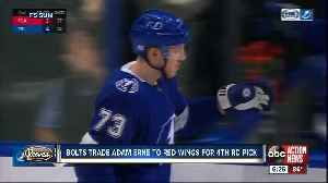 Tampa Bay Lightning trade forward Adam Erne to Detroit Red Wings for 4th round pick [Video]