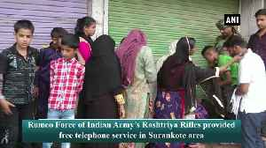 Indian Army's Romeo Force provides free telephone service in JKs Poonch [Video]