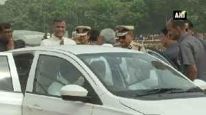 Nitish Kumar hoists tricolor at Gandhi Maidan in Patna [Video]