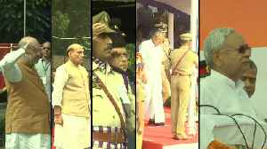 HM Shah, Defence Minister, Bihar & Kerala CMs celebrate Independence Day [Video]