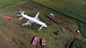 Inside plane brought down by bird strike [Video]