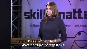 Jo Swinson prepared to do 'whatever it takes' to stop Brexit [Video]