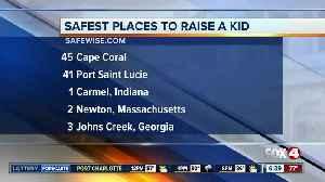 Cape Coral makes list of safest places to raise a kid [Video]