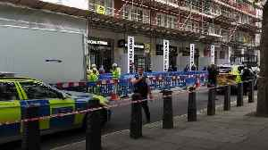 Man stabbed outside Home Office in central London