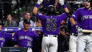 Dom Nuñez, Elk Grove High Grad, Hits Home Run In MLB Debut For Rockies [Video]
