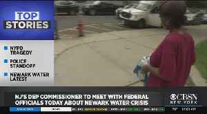Newark Water Emergency: New Jersey's DEP Commissioner Heads To Washington To Meet With Federal Officials [Video]