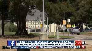 News video: Prison riot in Soledad leaves 8 injured after 200 prisoners get involved in fight
