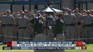 Tribute held for CHP Riverside officer shot and killed during traffic stop [Video]