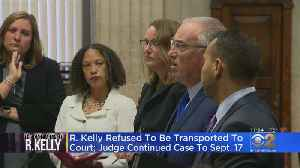 News video: Judge Postpones Issue Of Increasing Kelly's Bond Because He Was 'No Show' In Court