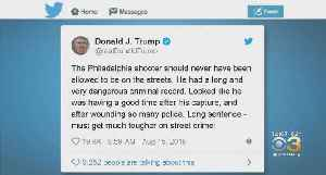 President Trump Weighs In On Philadelphia Police Standoff, Shootout [Video]