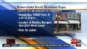 News video: Kern Back in Business: Small Business Networking Expo taking place today in Bakersfield