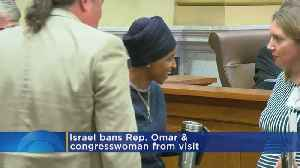 News video: Israeli Official: Ilhan Omar Barred From Entry