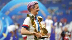 News video: Megan Rapinoe Says Women's Soccer 'Won't Accept Anything Less Than Equal Pay'