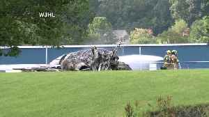 News video: Dale Earnhardt Jr., his wife involved in East Tennessee plane crash