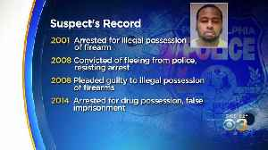 Suspected Gunman Accused Of Shooting 6 Philly Cops Has Long Rap Sheet [Video]
