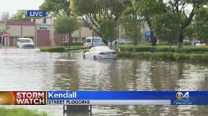 Bad Flooding In Several Parts Of South Miami-Dade County [Video]