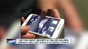 Cheektowaga Police working with variable quality security footage at Walden Galleria [Video]